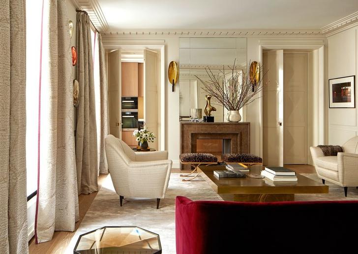 Новое прочтение: квартира 111 м² в Париже (фото 5)