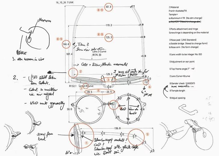 Константин Грчик разработал дизайн очков для JINS (фото 6)
