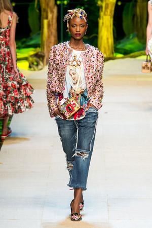 Dolce & Gabbana | Подиум на ELLE - Подиум - фото 4654