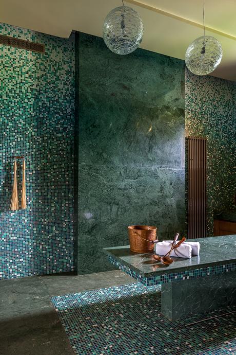 25 интерьеров зеленого цвета (галерея 0, фото 7)