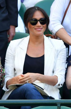 Настоящая подруга: Меган Маркл пришла поддержать Серену Уильямс на Уимблдоне (фото 0.2)