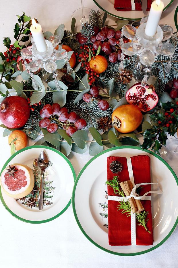 4 варианта новогодней сервировки фото [10]