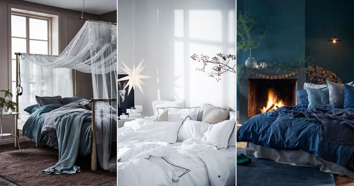 Зима, приходи! Новогоднее настроение в спальне (фото 0)