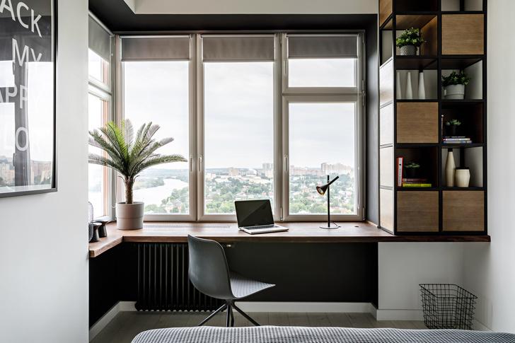 Экологичный интерьер квартиры в Москве 47 м² (фото 6)
