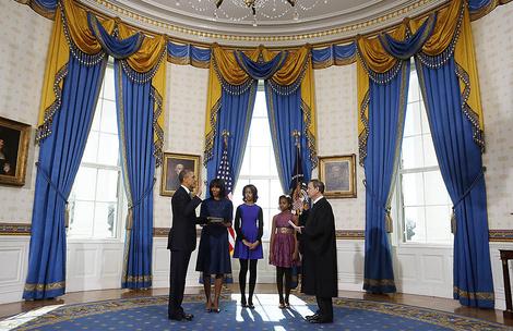 Как выглядят апартаменты президентской семьи в Белом доме? | галерея [3] фото [2]