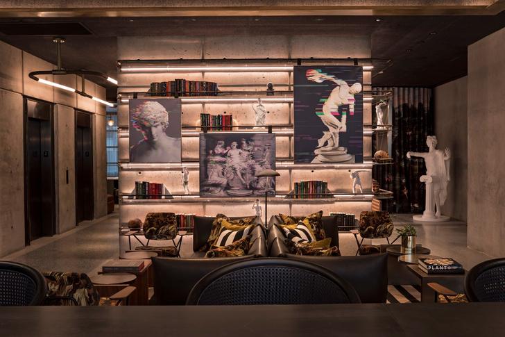 Дизайнерский отель с микро-номерами в Нью-Йорке (фото 22)