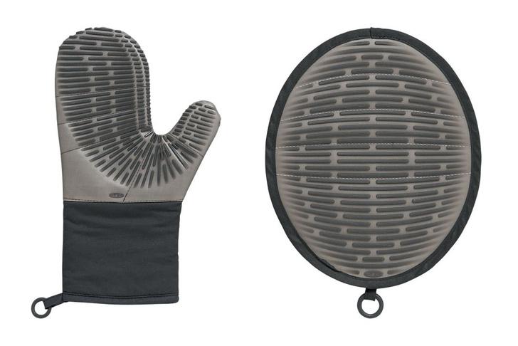 Жаропрочные перчатка и прихватка, Oxo, www.oxo.com
