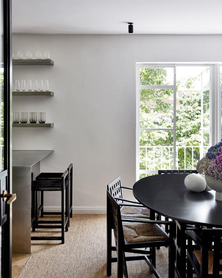 Монохромный интерьер квартиры в Австралии (фото 8)