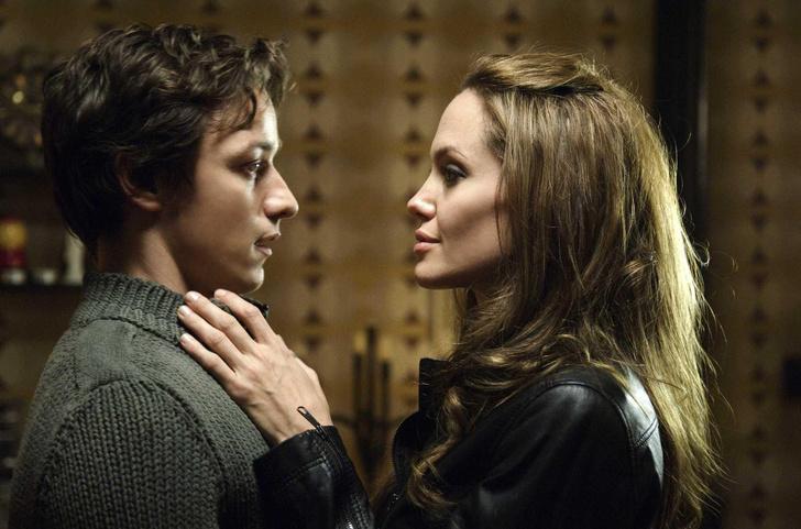 Джеймс Макэвой и Анджелина Джоли