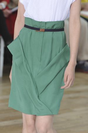 Показ Nicole Farhi коллекции сезона Весна-лето 2010 года prêt-à-porter - www.elle.ru - Подиум - фото 112627