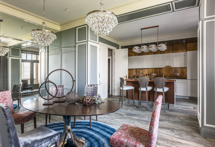 Квартира 150 м²: проект Надежды Чак (фото 8)
