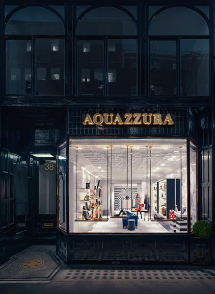 В Лондоне открылся первый флагманский магазин Aquazzura | галерея [1] фото [13]
