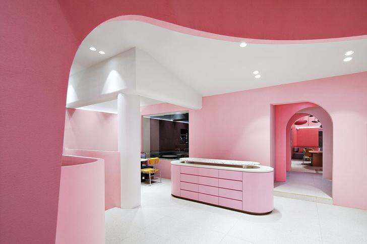 Розовый бутик Villa de Mûrir в Сеуле (фото 4)