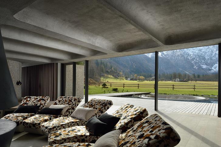 Семейный бутик-отель с велнес-центром в Словенских Альпах (фото 17)