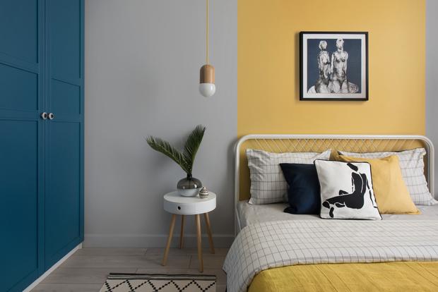 Color blocking: квартира 46 м² под сдачу (фото 13)