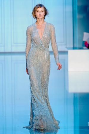 Показ Elie Saab коллекции сезона Осень-зима 2011-2012 года haute couture - www.elle.ru - Подиум - фото 278792