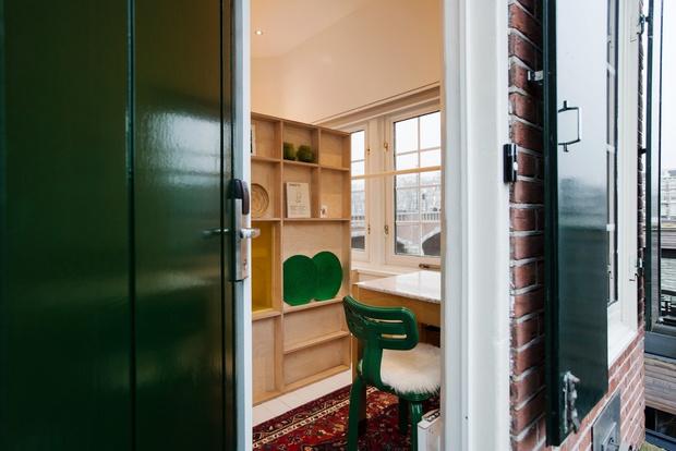Sweets Hotel: отель в домах смотрителей мостов в Амстердаме (фото 4)
