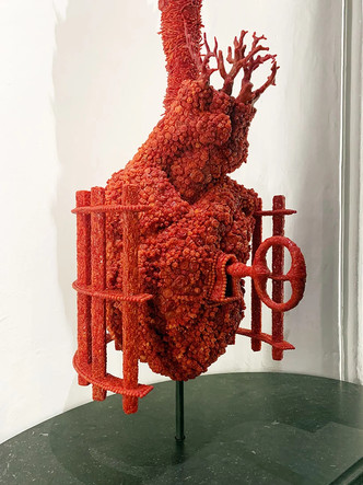 Коралловые скульптуры Яна Фабра для церкви в Неаполе (фото 5.2)