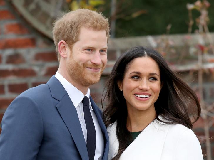 Фото дня: принц Гарри и Меган Маркл после объявления о помолвке (фото 7)