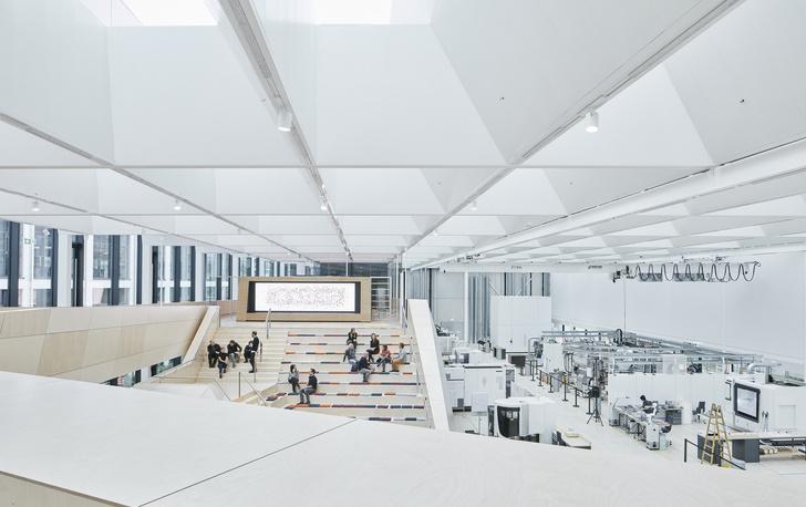 Новое здание штаб-квартиры Swarovski от студии Snøhetta (фото 12)