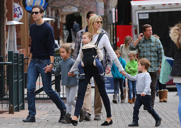 Super Mama: Иванка Трамп с детьми в Аспене