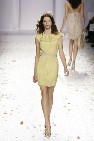 Показ Luisa Beccaria коллекции сезона Весна-лето 2009 года prêt-à-porter - www.elle.ru - Подиум - фото 82688
