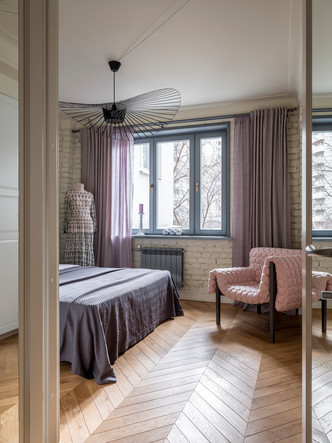 Московская квартира 60 м² с элементами лофта (фото 15.1)
