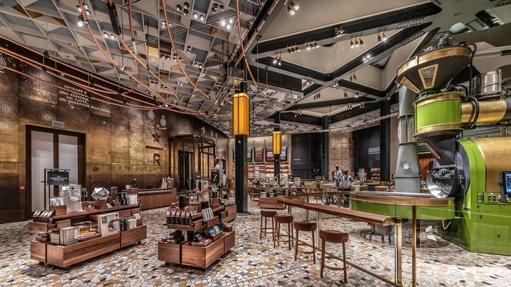 В Италии открылось первое кафе Starbucks (фото 3)