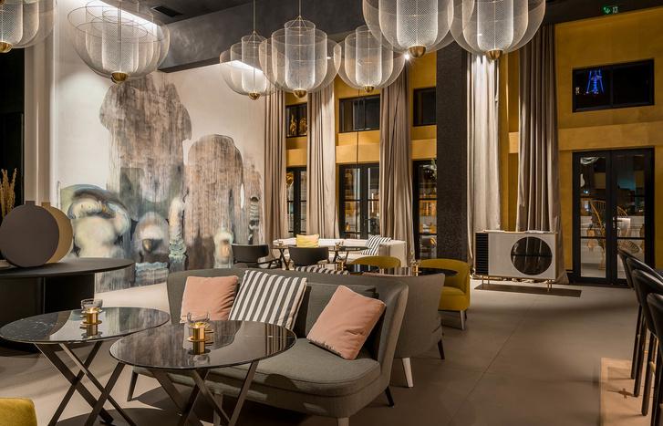 Monograph: дизайн-отель с баром и рестораном в Тбилиси (фото 18)