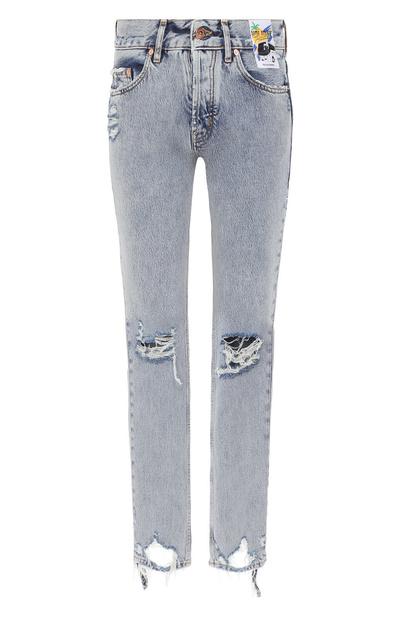 Вторая жизнь: джинсы-варенки — тренд весны (галерея 2, фото 6)