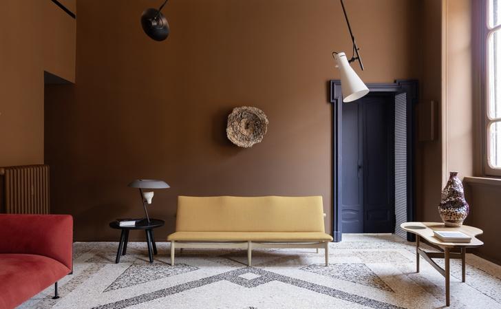 Темное царство: квартира в Милане (фото 14)