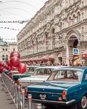 Звездные водители раритетных автомобилей на ГУМ-Авторалли (фото 1.1)