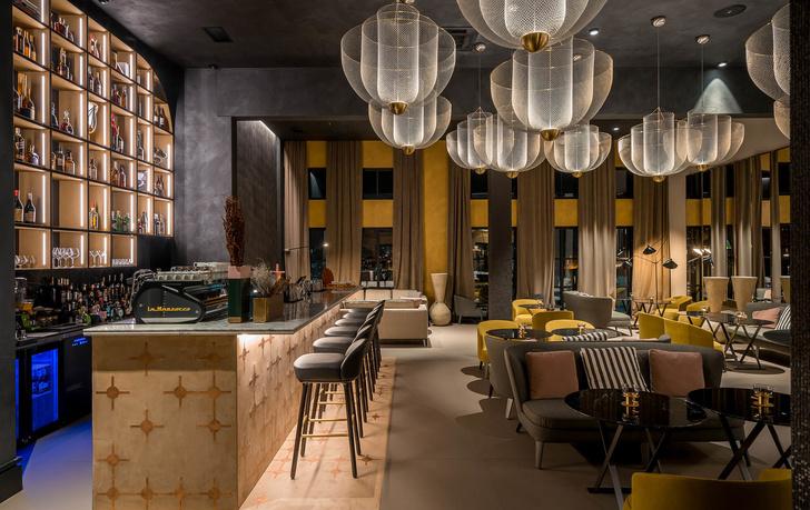 Monograph: дизайн-отель с баром и рестораном в Тбилиси (фото 11)