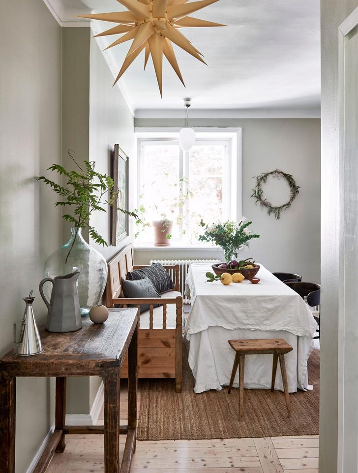 Скандинавский голубой: дом стилиста Софии Вуд (фото 6)