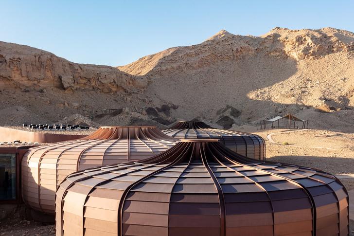 «Марсианский» парк в ОАЭ по проекту Hopkins Architects (фото 2)