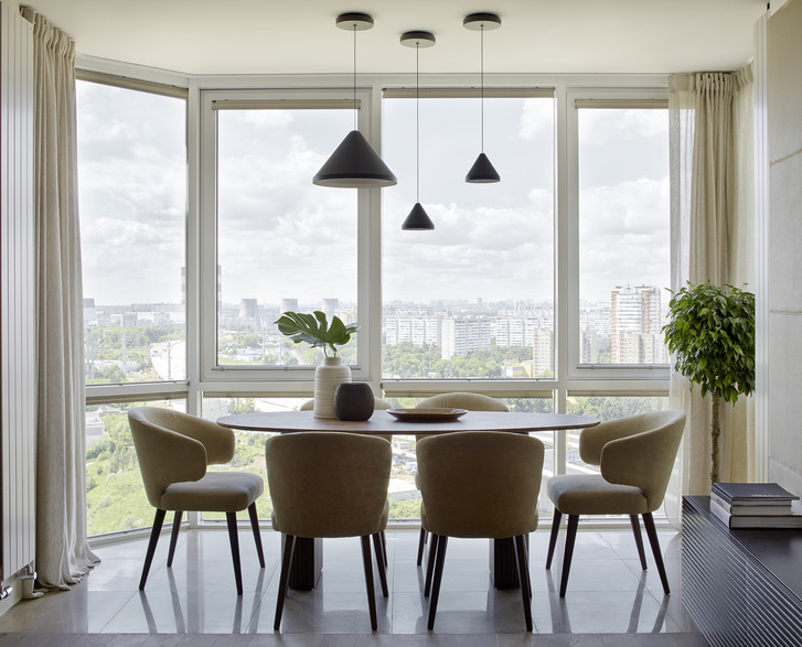 Квартира 121 м²: проект Арианы Ахмад и Татьяны Карякиной (фото 0)
