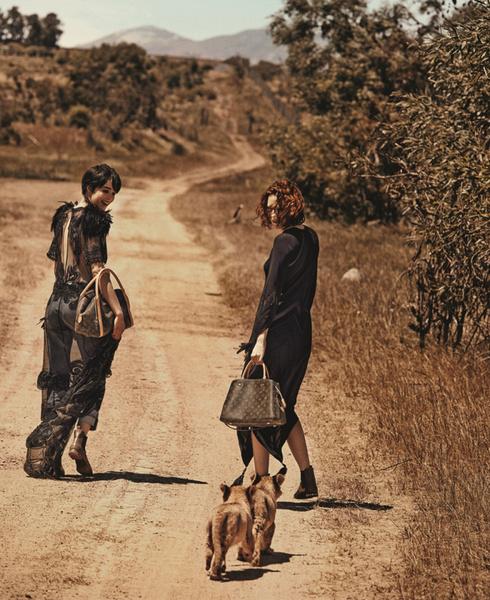 Новая рекламная кампания Louis Vuitton «Дух путешествий»