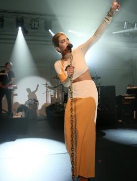 Рита Ора выступила на закрытой вечеринке Calvin Klein