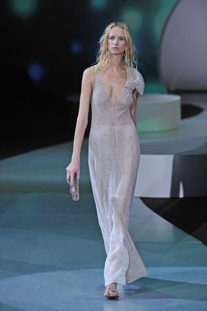 Показы мод Giorgio Armani Весна-лето 2009 | Подиум на ELLE - Подиум - фото 3352