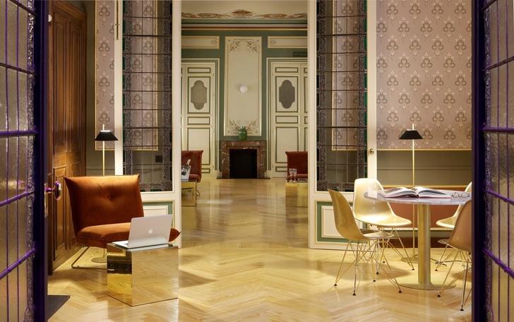 Отель с нетрадиционной ориентацией в Мадриде (фото 6)
