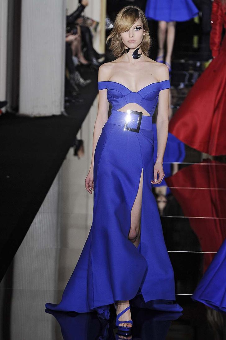 Саша Лусс в Atelier Versace