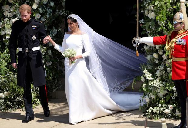 Какой фантастический сюрприз Меган Маркл сделала Гарри в день свадьбы? (фото 1)