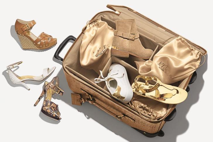 Michael Kors выпустил капсульную коллекцию обуви Jet Set 6