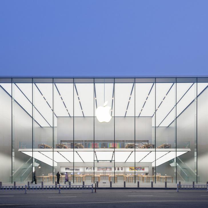 10 самых красивых Apple's Stores от (фото 2)
