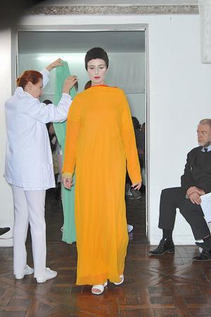 Показ Adeline Andre коллекции сезона Весна-лето 2010 года Haute couture - www.elle.ru - Подиум - фото 138076