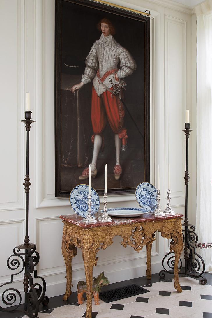 Французская классика в современном доме фото [6]