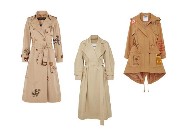 Модные цвета пальто весна 2018 фото