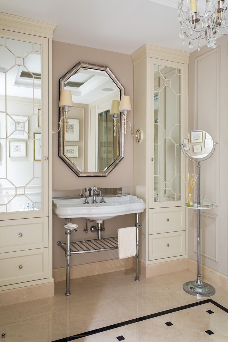 Розовая пудра: 12 ванных комнат в розовой гамме (галерея 0, фото 8)