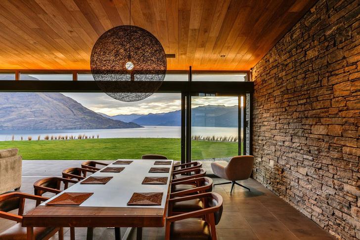 Одно целое: дом на берегу озера Вакатипу в Новой Зеландии (фото 6)