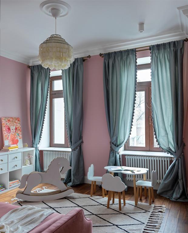 Квартира для семьи с тремя детьми в классическом стиле 140 м² (фото 15)